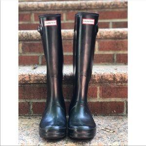 Women's Black Hunter Boots